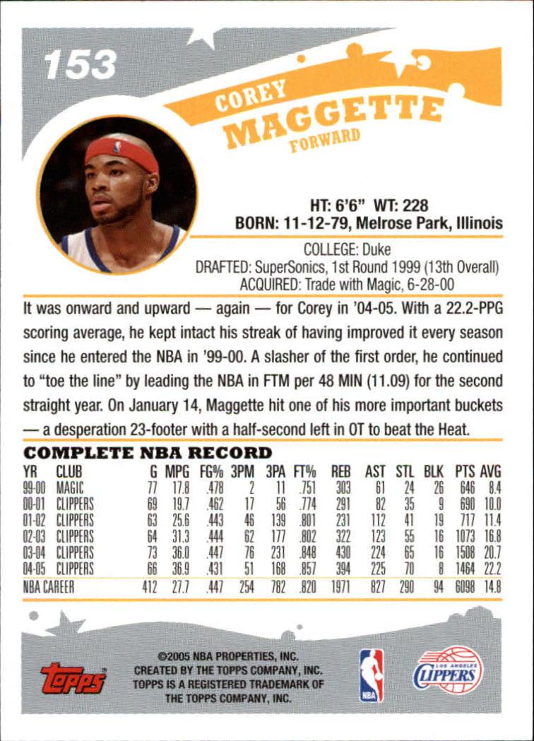 2005-06-Topps-Basketball-Cards-Base-Set-Pick-From-List thumbnail 305