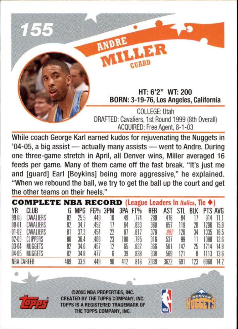 2005-06-Topps-Basketball-Cards-Base-Set-Pick-From-List thumbnail 309