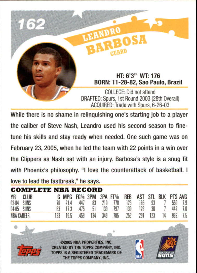 2005-06-Topps-Basketball-Cards-Base-Set-Pick-From-List thumbnail 323