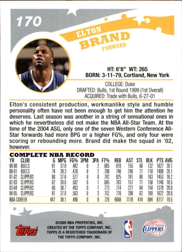 2005-06-Topps-Basketball-Cards-Base-Set-Pick-From-List thumbnail 339