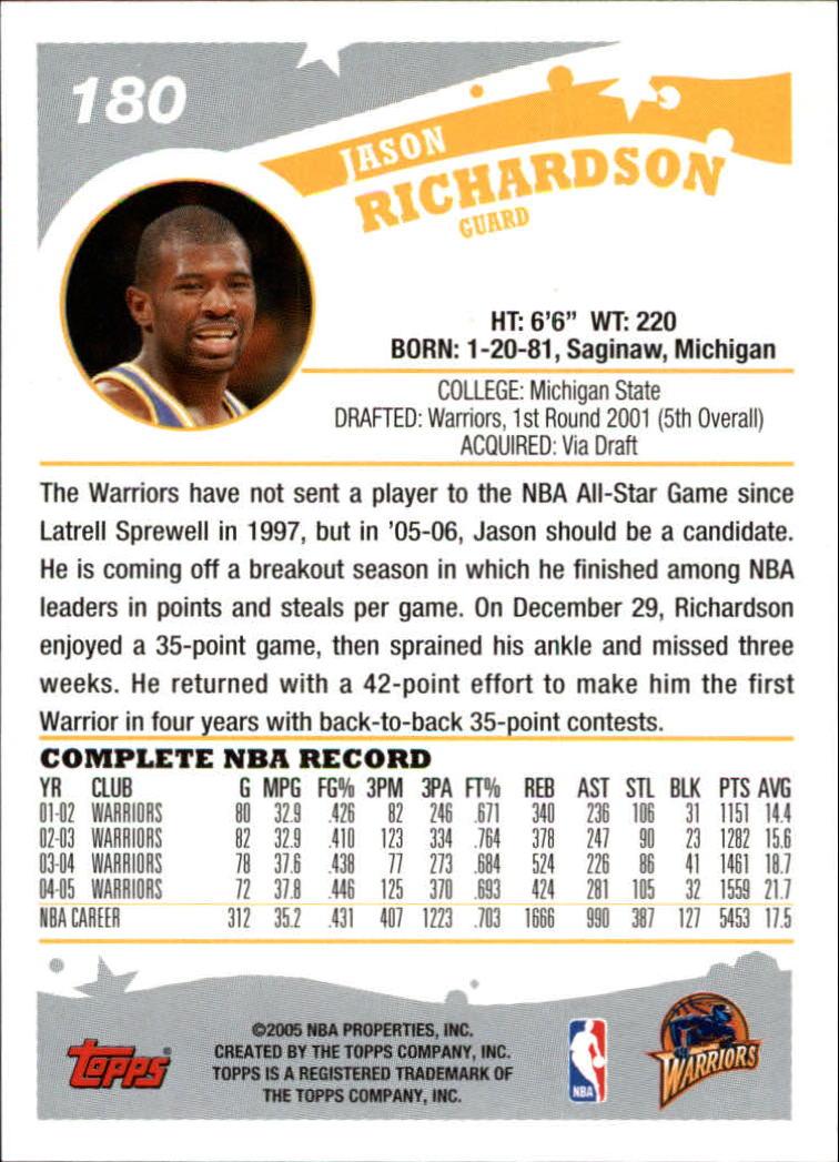 2005-06-Topps-Basketball-Cards-Base-Set-Pick-From-List thumbnail 357