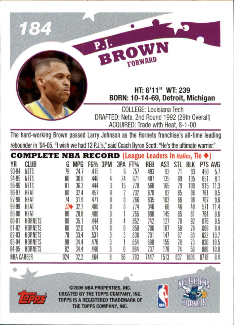 2005-06-Topps-Basketball-Cards-Base-Set-Pick-From-List thumbnail 365