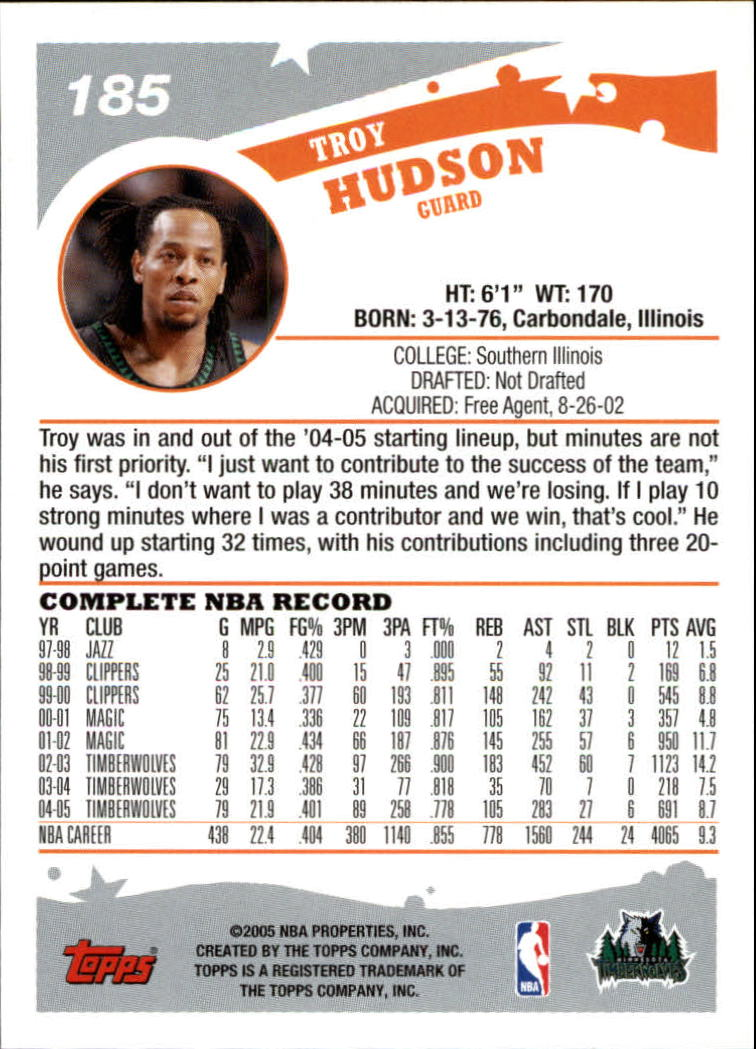 2005-06-Topps-Basketball-Cards-Base-Set-Pick-From-List thumbnail 367