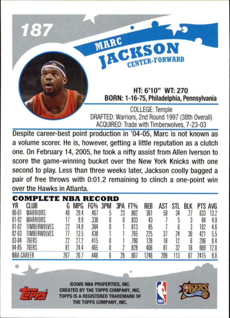 2005-06-Topps-Basketball-Cards-Base-Set-Pick-From-List thumbnail 371