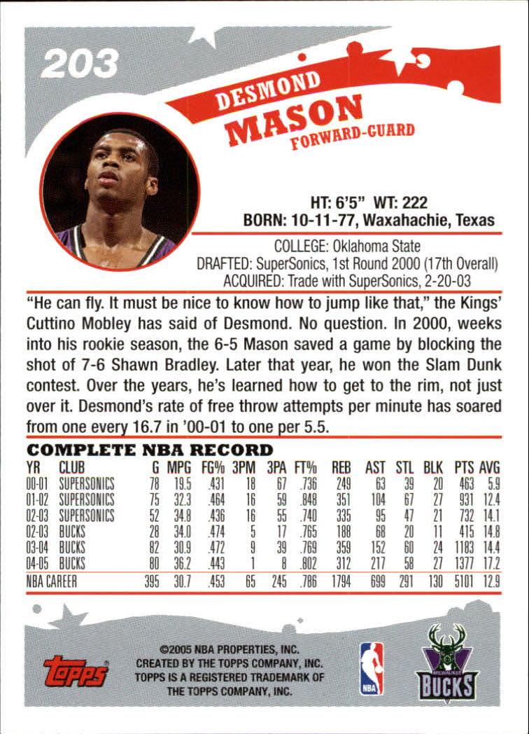 2005-06-Topps-Basketball-Cards-Base-Set-Pick-From-List thumbnail 401