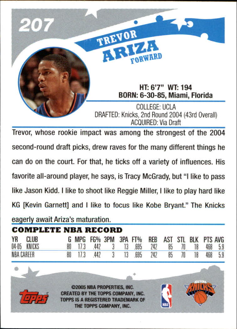 2005-06-Topps-Basketball-Cards-Base-Set-Pick-From-List thumbnail 409