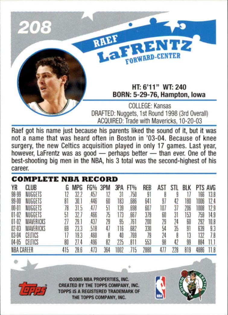 2005-06-Topps-Basketball-Cards-Base-Set-Pick-From-List thumbnail 411