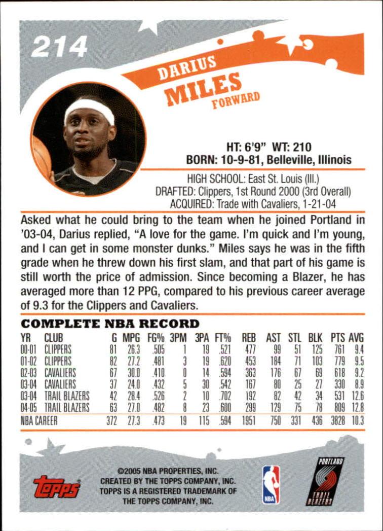 2005-06-Topps-Basketball-Cards-Base-Set-Pick-From-List thumbnail 423