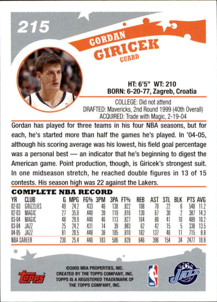2005-06-Topps-Basketball-Cards-Base-Set-Pick-From-List thumbnail 425