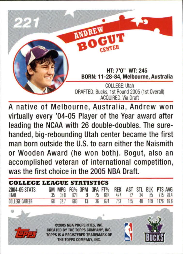 2005-06-Topps-Basketball-Cards-Base-Set-Pick-From-List thumbnail 437
