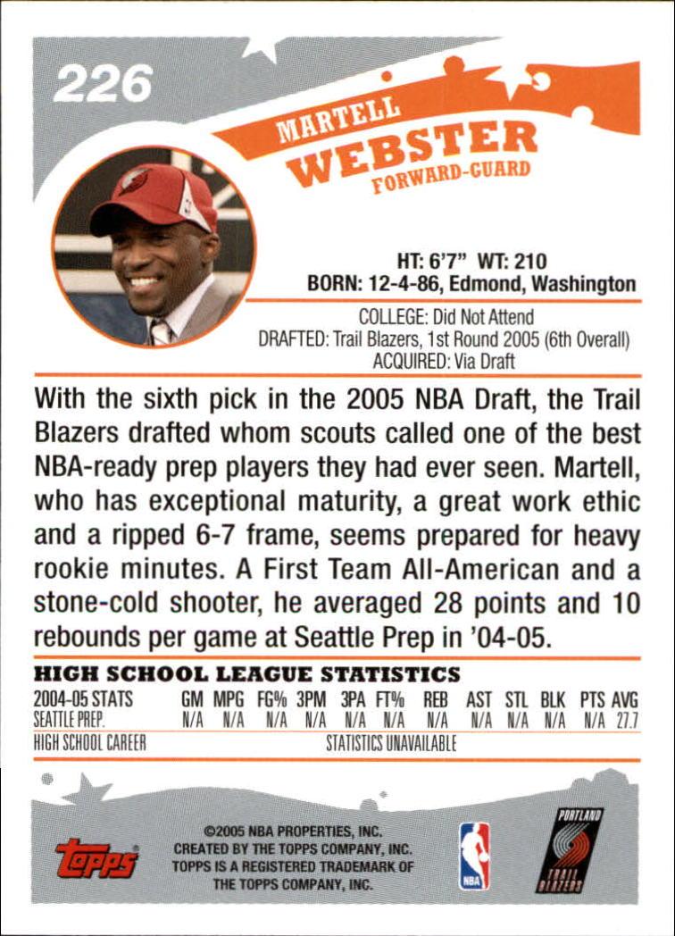 2005-06-Topps-Basketball-Cards-Base-Set-Pick-From-List thumbnail 445