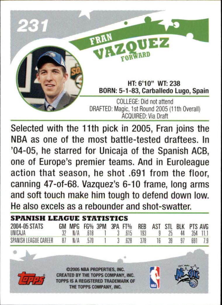 2005-06-Topps-Basketball-Cards-Base-Set-Pick-From-List thumbnail 453