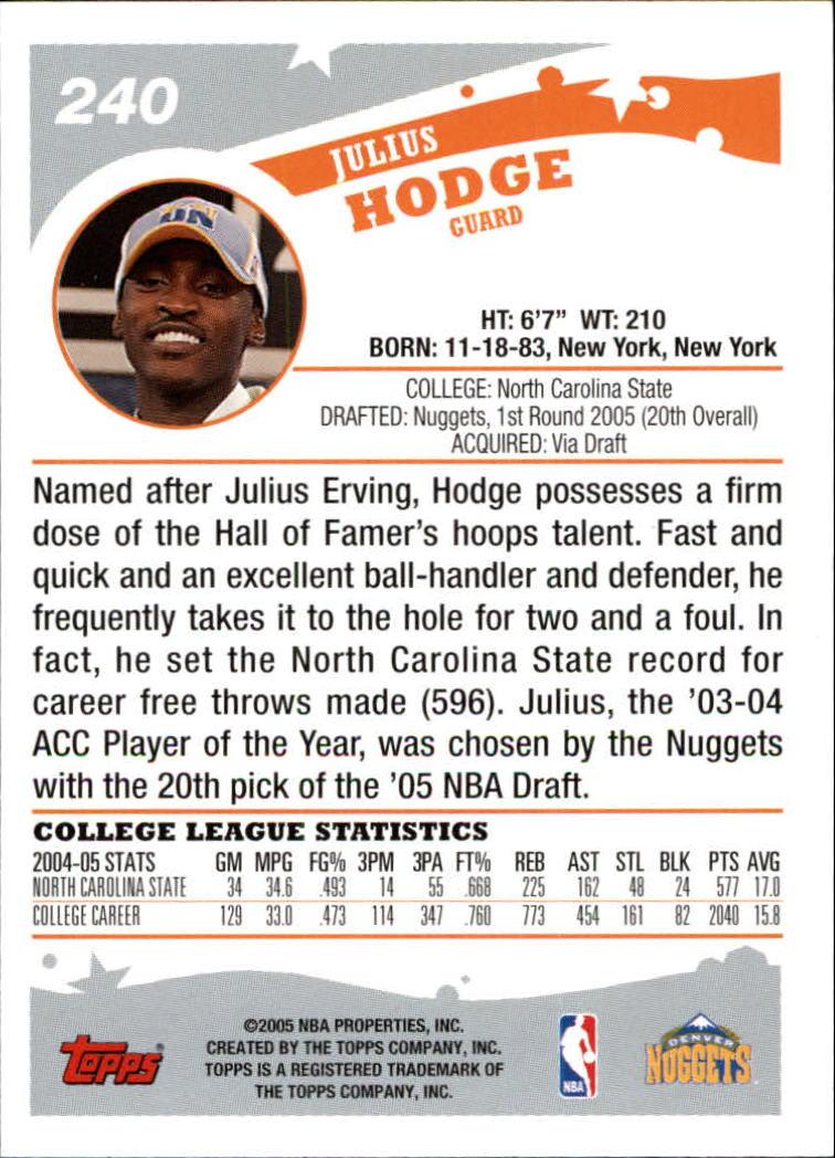 2005-06-Topps-Basketball-Cards-Base-Set-Pick-From-List thumbnail 473