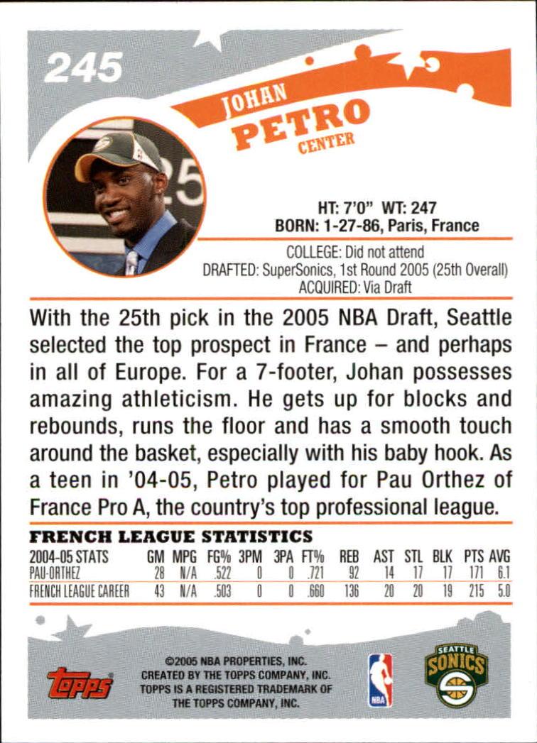 2005-06-Topps-Basketball-Cards-Base-Set-Pick-From-List thumbnail 481