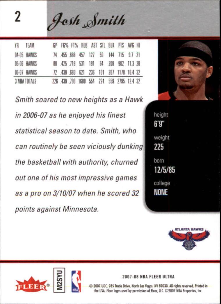 2007-08-Fleer-Ultra-SE-Basketball-Cards-Base-Set-Pick-From-List thumbnail 5