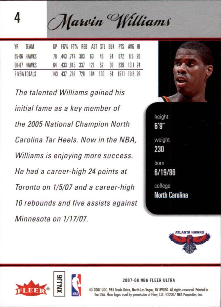2007-08-Fleer-Ultra-SE-Basketball-Cards-Base-Set-Pick-From-List thumbnail 9