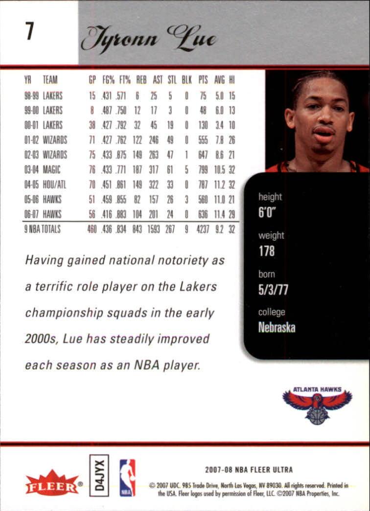 2007-08-Fleer-Ultra-SE-Basketball-Cards-Base-Set-Pick-From-List thumbnail 13