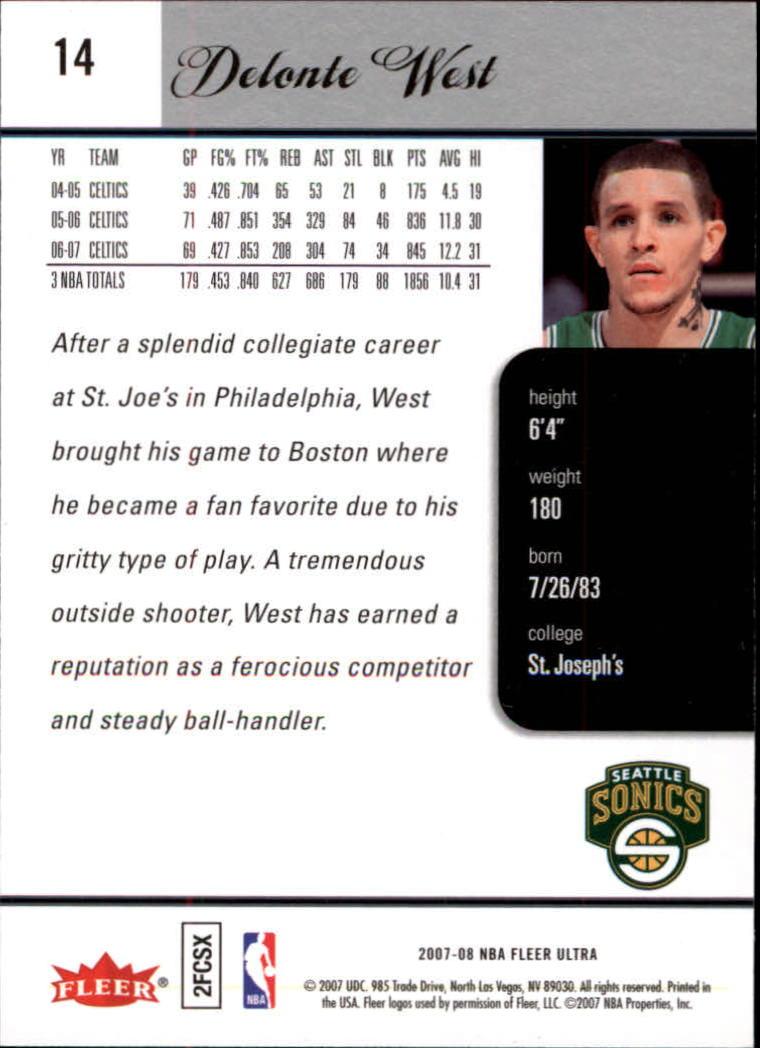 2007-08-Fleer-Ultra-SE-Basketball-Cards-Base-Set-Pick-From-List thumbnail 23