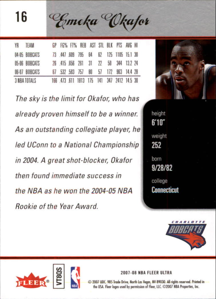 2007-08-Fleer-Ultra-SE-Basketball-Cards-Base-Set-Pick-From-List thumbnail 27