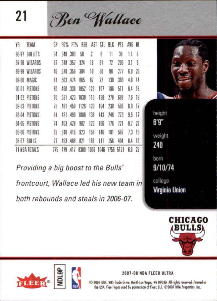 2007-08-Fleer-Ultra-SE-Basketball-Cards-Base-Set-Pick-From-List thumbnail 35