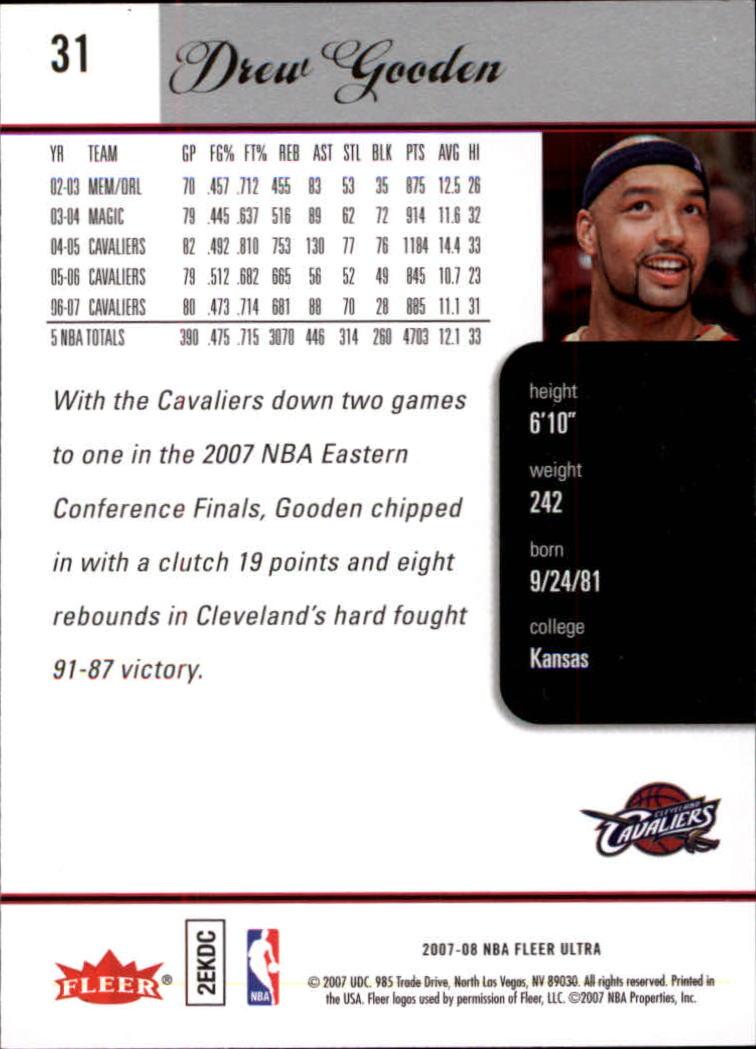2007-08-Fleer-Ultra-SE-Basketball-Cards-Base-Set-Pick-From-List thumbnail 45