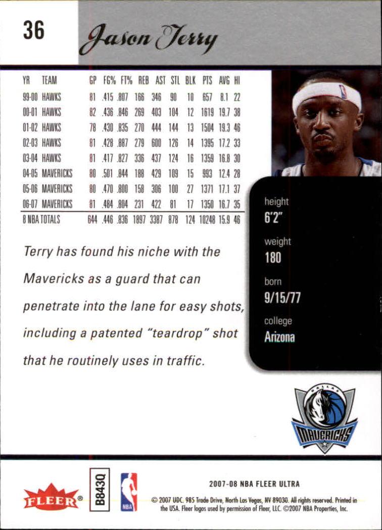 2007-08-Fleer-Ultra-SE-Basketball-Cards-Base-Set-Pick-From-List thumbnail 52