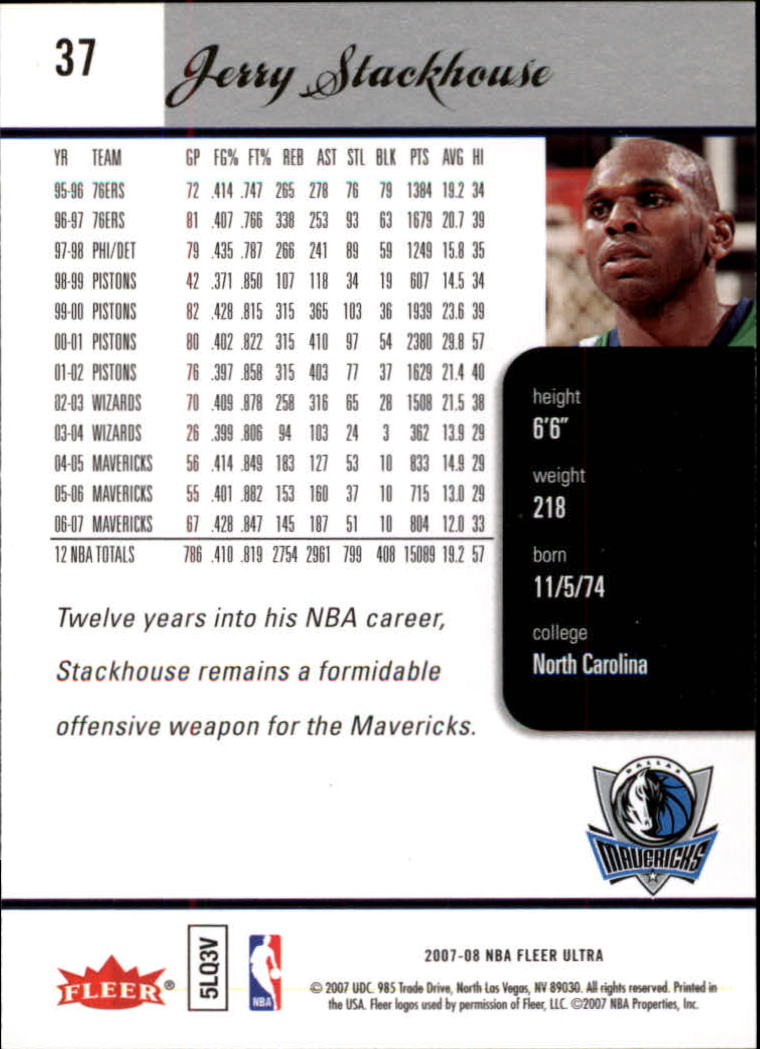 2007-08-Fleer-Ultra-SE-Basketball-Cards-Base-Set-Pick-From-List thumbnail 54