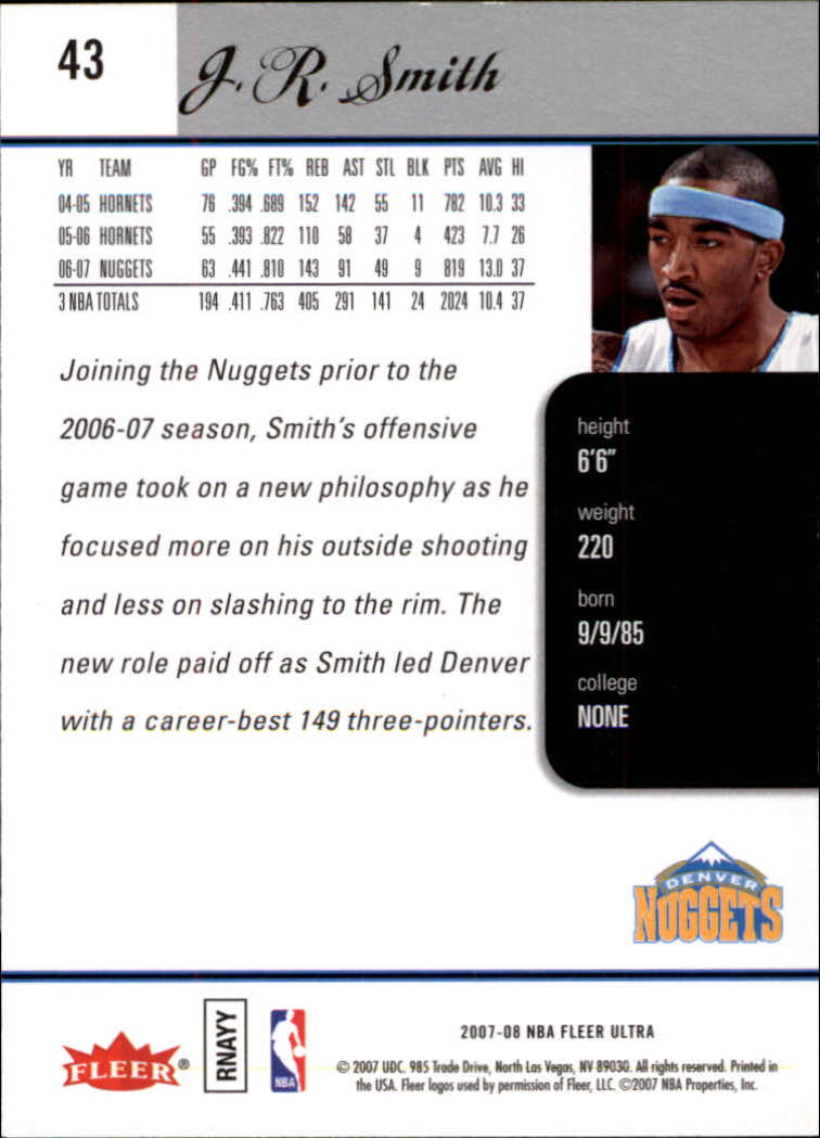 2007-08-Fleer-Ultra-SE-Basketball-Cards-Base-Set-Pick-From-List thumbnail 60