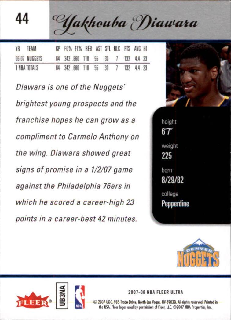 2007-08-Fleer-Ultra-SE-Basketball-Cards-Base-Set-Pick-From-List thumbnail 62