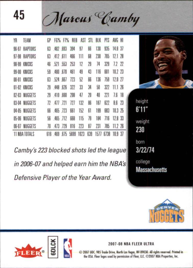 2007-08-Fleer-Ultra-SE-Basketball-Cards-Base-Set-Pick-From-List thumbnail 64