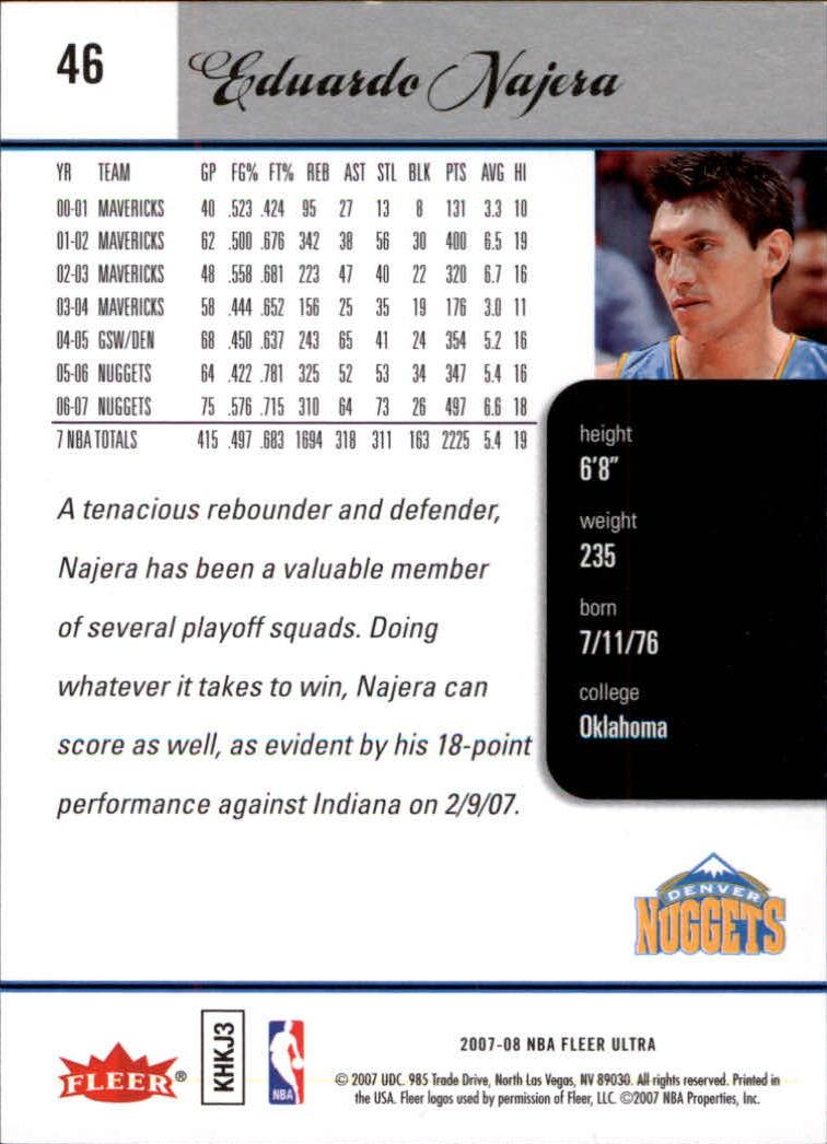 2007-08-Fleer-Ultra-SE-Basketball-Cards-Base-Set-Pick-From-List thumbnail 66