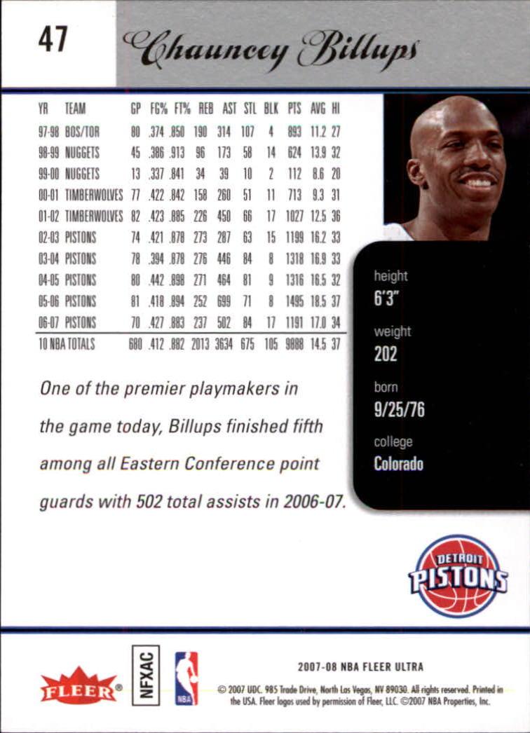 2007-08-Fleer-Ultra-SE-Basketball-Cards-Base-Set-Pick-From-List thumbnail 68