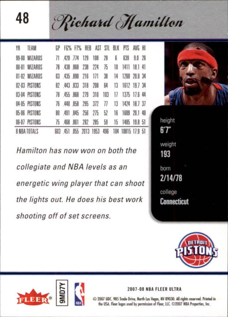 2007-08-Fleer-Ultra-SE-Basketball-Cards-Base-Set-Pick-From-List thumbnail 70