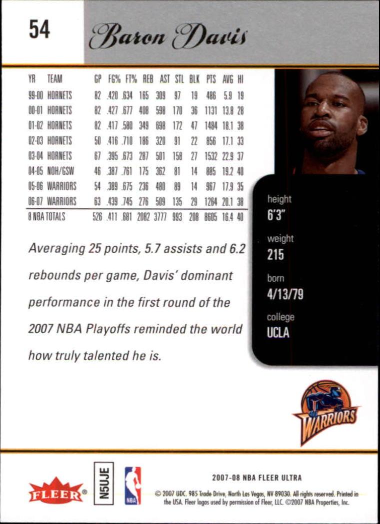 2007-08-Fleer-Ultra-SE-Basketball-Cards-Base-Set-Pick-From-List thumbnail 76