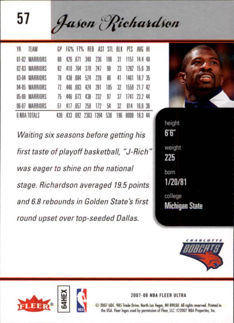 2007-08-Fleer-Ultra-SE-Basketball-Cards-Base-Set-Pick-From-List thumbnail 78