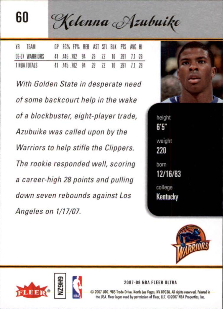 2007-08-Fleer-Ultra-SE-Basketball-Cards-Base-Set-Pick-From-List thumbnail 84