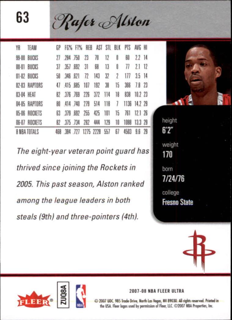 2007-08-Fleer-Ultra-SE-Basketball-Cards-Base-Set-Pick-From-List thumbnail 88