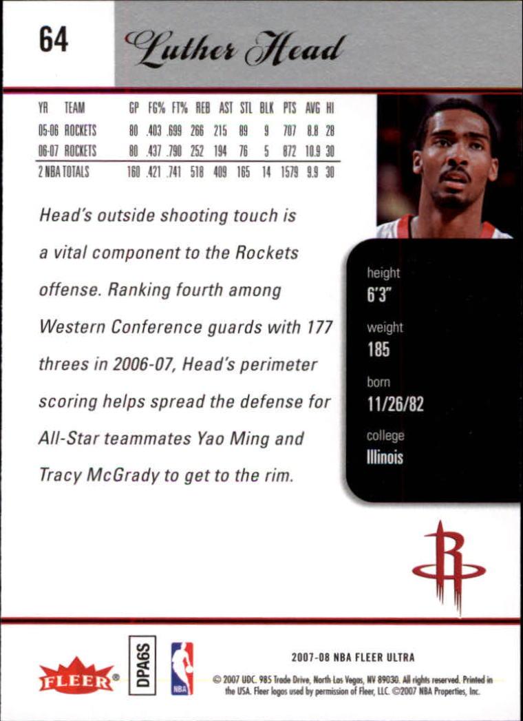2007-08-Fleer-Ultra-SE-Basketball-Cards-Base-Set-Pick-From-List thumbnail 90
