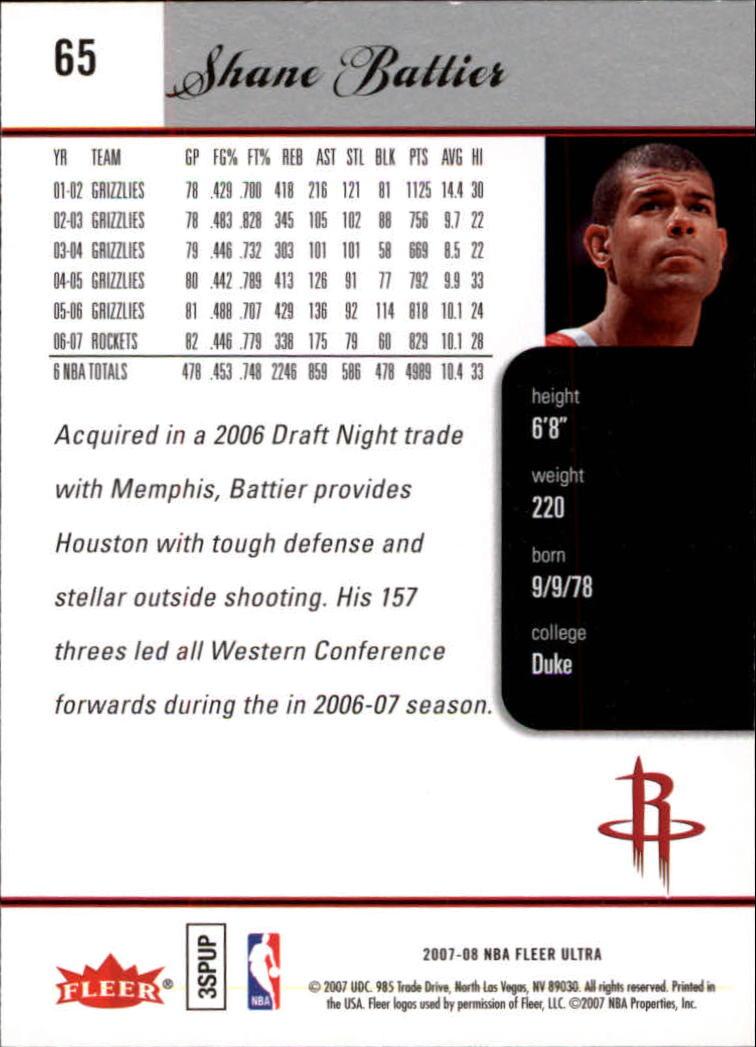2007-08-Fleer-Ultra-SE-Basketball-Cards-Base-Set-Pick-From-List thumbnail 92