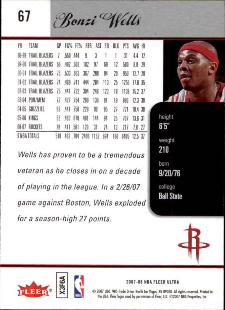 2007-08-Fleer-Ultra-SE-Basketball-Cards-Base-Set-Pick-From-List thumbnail 96