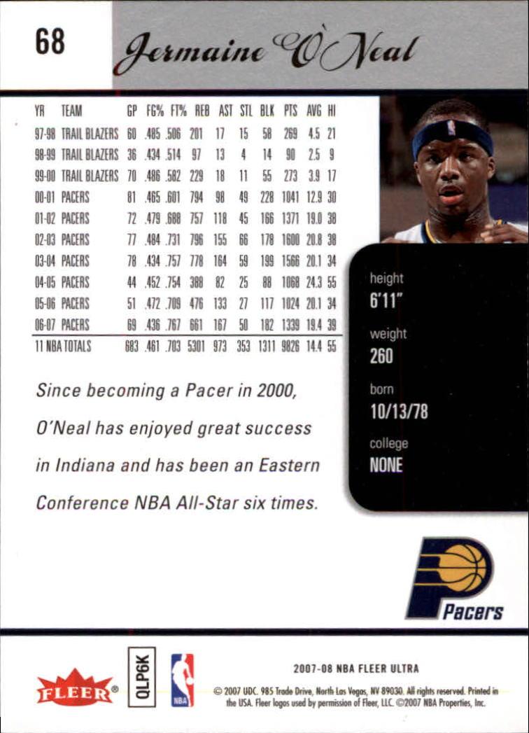 2007-08-Fleer-Ultra-SE-Basketball-Cards-Base-Set-Pick-From-List thumbnail 98