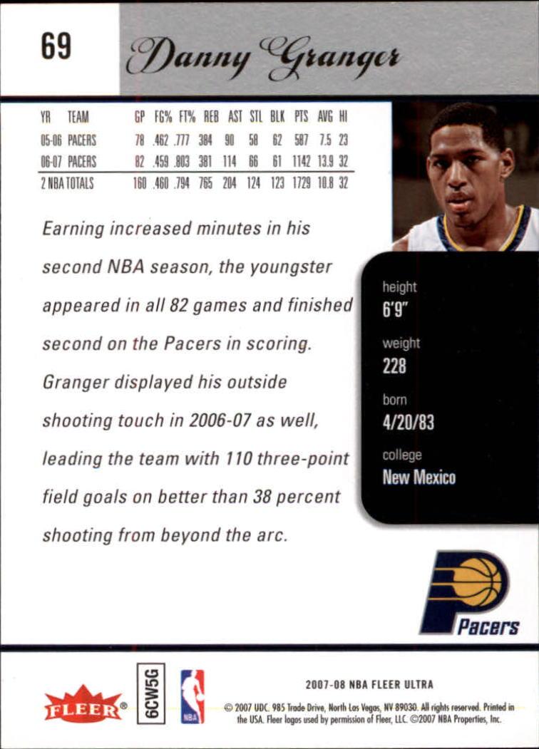 2007-08-Fleer-Ultra-SE-Basketball-Cards-Base-Set-Pick-From-List thumbnail 100