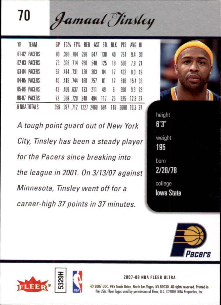 2007-08-Fleer-Ultra-SE-Basketball-Cards-Base-Set-Pick-From-List thumbnail 102