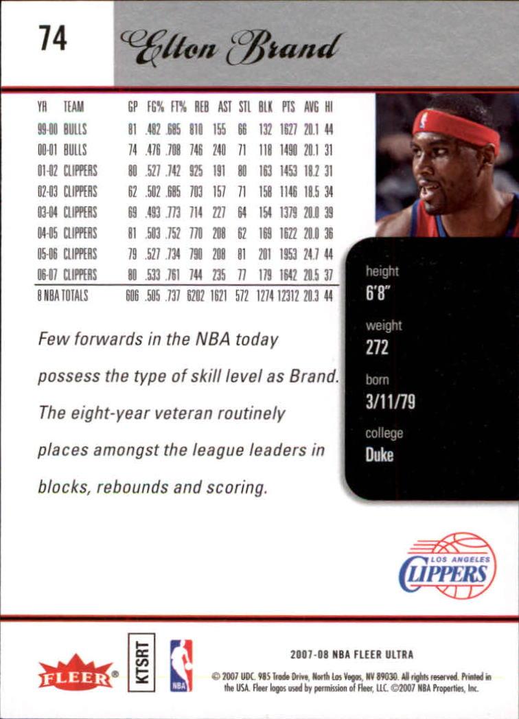 2007-08-Fleer-Ultra-SE-Basketball-Cards-Base-Set-Pick-From-List thumbnail 108