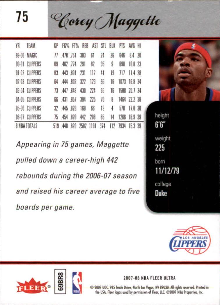 2007-08-Fleer-Ultra-SE-Basketball-Cards-Base-Set-Pick-From-List thumbnail 110