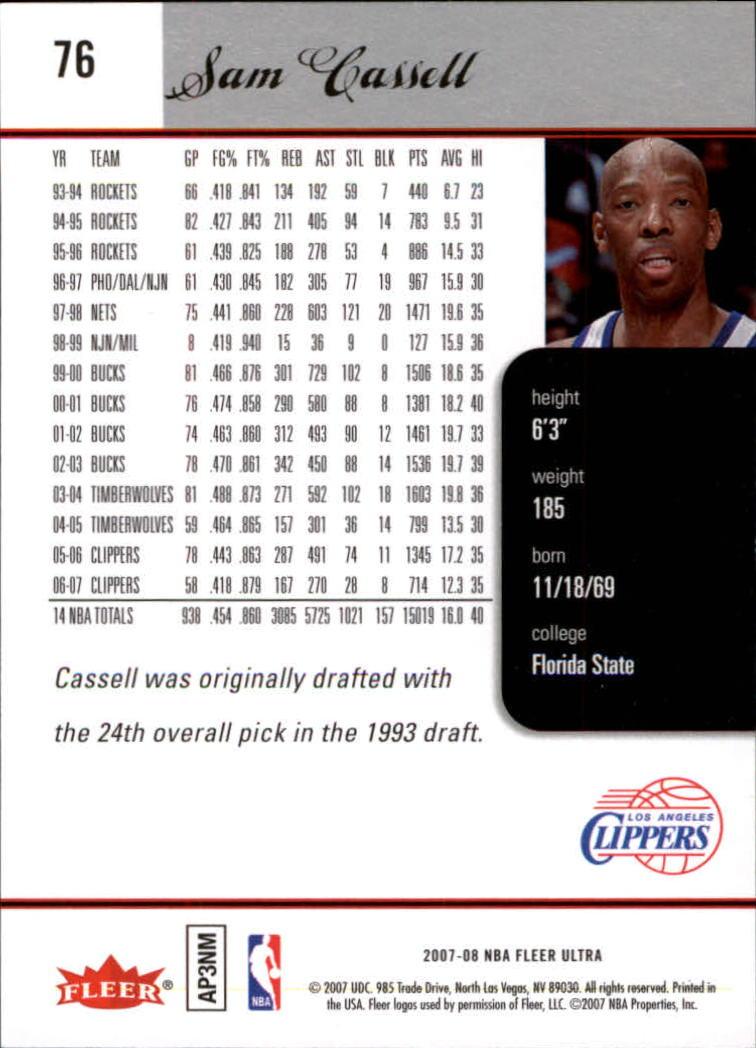 2007-08-Fleer-Ultra-SE-Basketball-Cards-Base-Set-Pick-From-List thumbnail 112