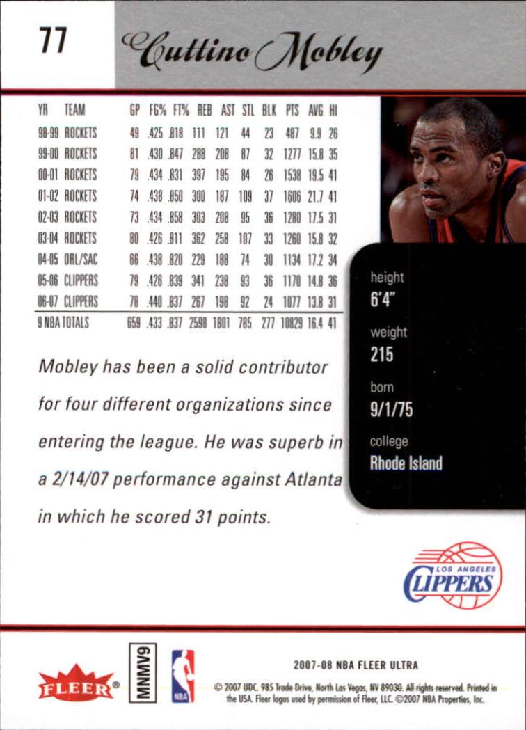 2007-08-Fleer-Ultra-SE-Basketball-Cards-Base-Set-Pick-From-List thumbnail 114