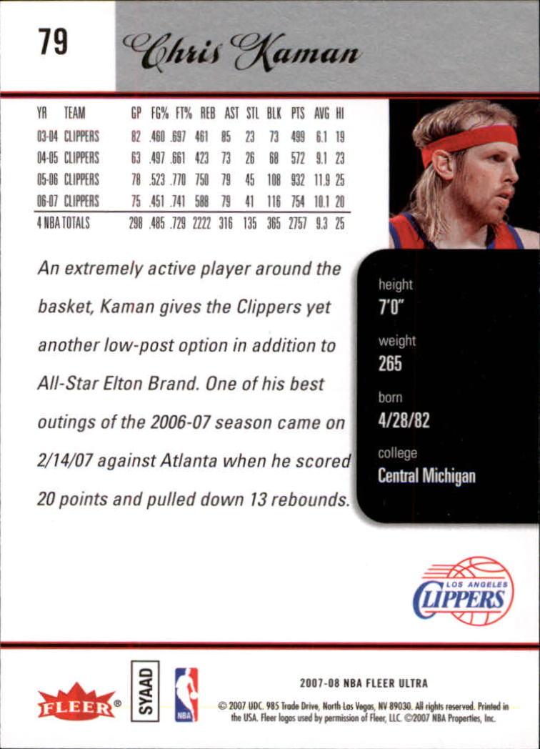 2007-08-Fleer-Ultra-SE-Basketball-Cards-Base-Set-Pick-From-List thumbnail 118