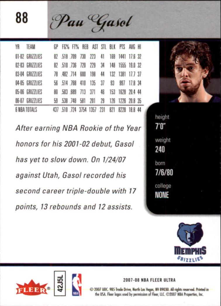 2007-08-Fleer-Ultra-SE-Basketball-Cards-Base-Set-Pick-From-List thumbnail 126
