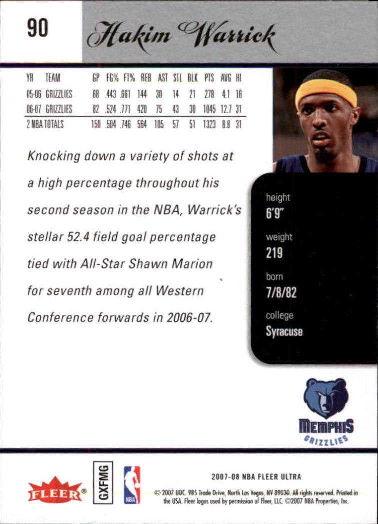 2007-08-Fleer-Ultra-SE-Basketball-Cards-Base-Set-Pick-From-List thumbnail 128